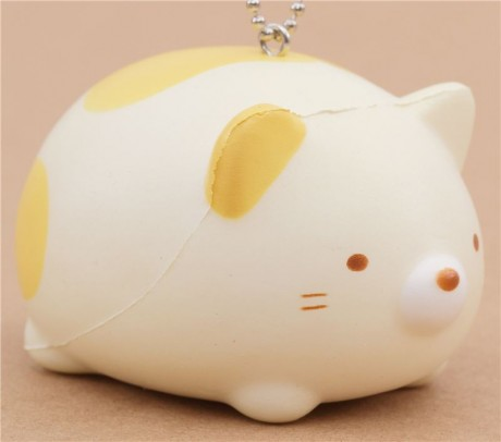 Soft And Squishy Cat Vine : Adorable Sumikkogurashi shy cat squishy - Cute Squishy Shop