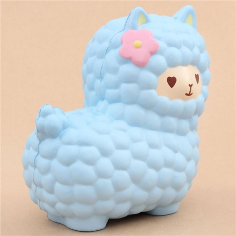 Vlampo jumbo big blue alpaca squishy kawaii - Cute Squishy ...