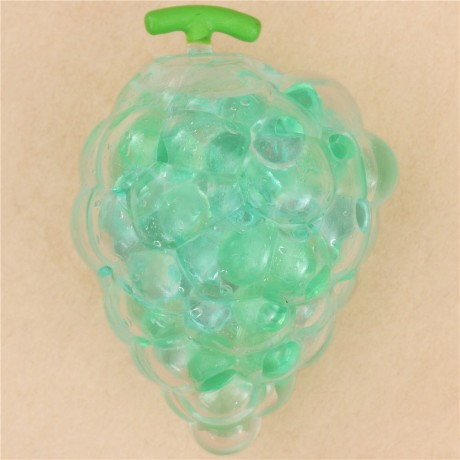 Squishy Squooshems Green : green grape squishy with jelly pearl filling - Cute Squishy Shop