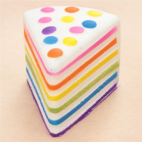 Squishy Cake Slice : rainbow cake slice squishy - Cute Squishy Shop