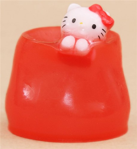 Squishy Jelly : red Hello Kitty jelly squishy - Cute Squishy Shop