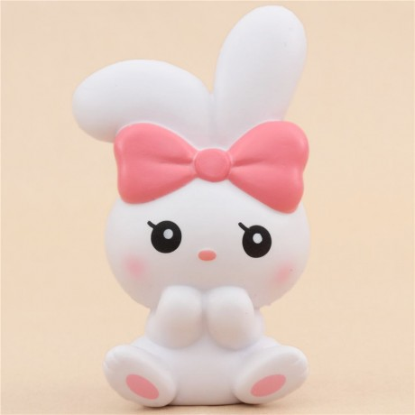 Squishy Bunnii : scented white angel bunny animal squishy by iBloom - Cute Squishy Shop